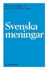 Svenska meningar (h�ftad)