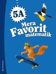 Mera Favorit matematik 5A – Elevpaket (Bok + digital produkt)