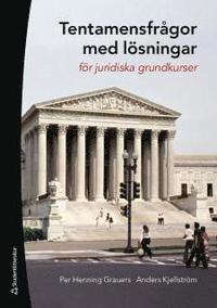 Tentamensfr�gor med l�sningar : f�r juridiska grundkurser (h�ftad)