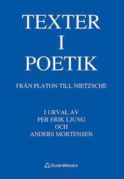 Texter I Poetik : Från Platon Till Nietzsche