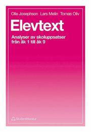 Elevtext – Analyser av skoluppsatser från åk 1 till åk 9