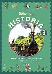 Boken om Historia 3 Grundbok – Frihetstiden och Gustavianska tiden