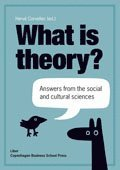 What is theory? : answers from the social and cultural sciences (h�ftad)