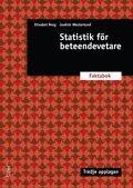 Statistik f�r beteendevetare : faktabok (h�ftad)