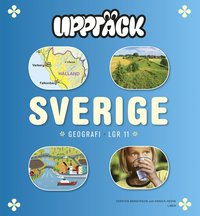 Uppt�ck Sverige Geografi Grundbok (inbunden)