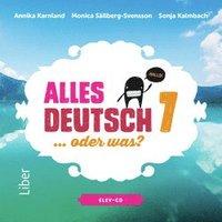 Alles Deutsch 7 Elev-cd - Tyska för grundskolan (ljudbok)