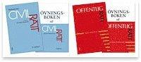 Civilr�ttspaket och Offentlig r�tt paket (4 b�cker) - Paket om 4 b�cker (h�ftad)