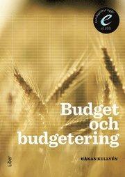 Budget och budgetering bok med eLabb