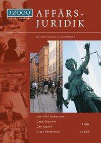 J2000 Aff�rsjuridik, Kommentarer och l�sningar (h�ftad)