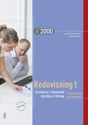 R2000 Redovisning 1 Kommentarer och lösningar
