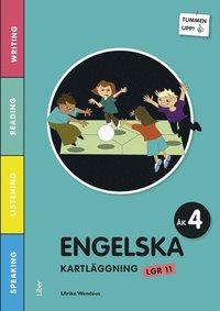 Tummen upp! Engelska kartl�ggning �k 4 (h�ftad)
