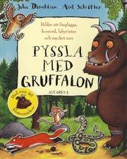 Pyssla med Gruffalon : bilder att färglägga korsord labyrinter och mycket