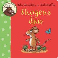 Gruffalons bok om skogens djur (kartonnage)