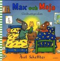 Max och Maja : godnattgrodan (inbunden)