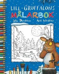 Lill-Gruffalons m�larbok (h�ftad)
