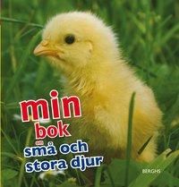 Min bok om små och stora djur (inbunden)