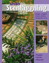 Stenl�ggning : projekt, teknik, material : g�ngar, trappor, murar, altaner, stenpartier m.m. (kartonnage)