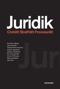 Juridik - civilr�tt, straffr�tt, processr�tt (h�ftad)