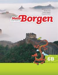 Matte Direkt Borgen Grundbok 6B Ny upplaga (h�ftad)