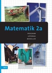 Matematik 2a – program uppdrag modeller