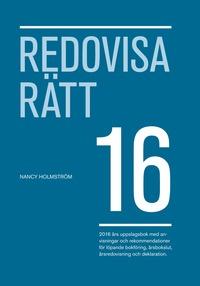 Redovisa R�tt 2016 (h�ftad)