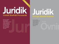 Juridik - civilr�tt, straffr�tt, processr�tt Paket (h�ftad)