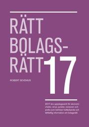 Rätt Bolagsrätt 2017