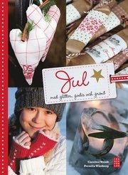 Jul med glitter, godis och grönt (inbunden)