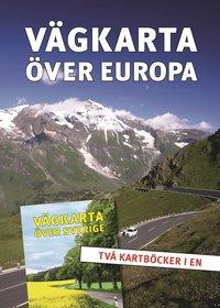 V�gkarta �ver Sverige/Europa (inbunden)