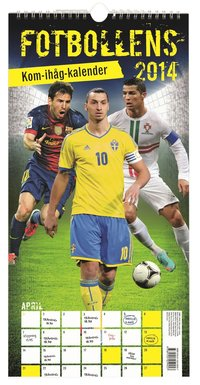 Fotbollens kom-ih�g-kalender 2014 (inbunden)