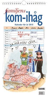 Familjens kom-ih�g-kalender 2015 ()