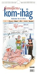 Familjens kom-ih�g-kalender 2015