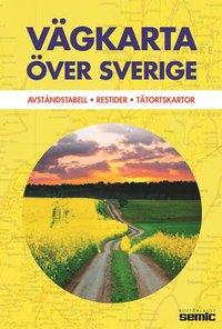 V�gkarta �ver Sverige (inbunden)