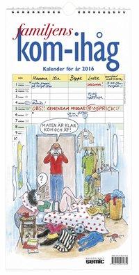 Familjens kom-ih�g-kalender 2016 ()