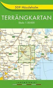 509 Hässleholm Terrängkartan : 1:50000