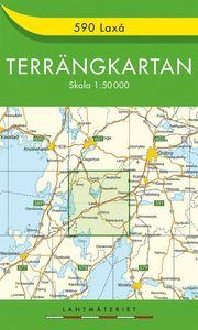 590 Laxå Terrängkartan : 1:50000