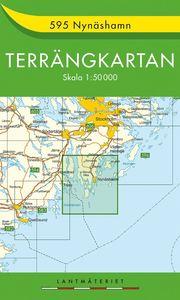 595 Nynäshamn Terrängkartan : 1:50000