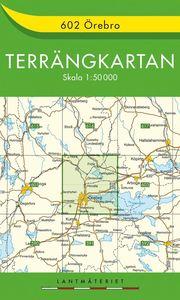 602 Örebro Terrängkartan : 1:50000