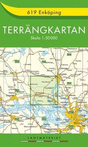 619 Enköping Terrängkartan : 1:50000