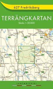 627 Fredriksberg Terrängkartan : 1:50000