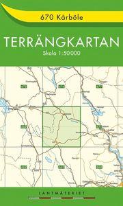 670 Kårböle Terrängkartan : 1:50000