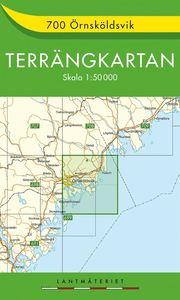 700 Örnsköldsvik Terrängkartan : 1:50000