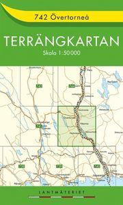742 Övertorneå Terrängkartan : 1:50000