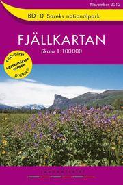 BD10 Sareks Nationalpark Fjällkartan : 1:100000