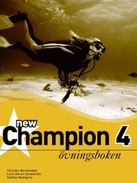 New Champion. 4, �vningsboken (h�ftad)