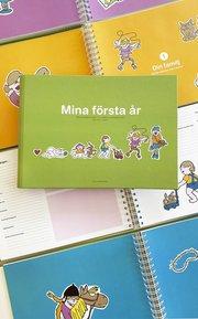 Mina första år : från mammas mage till första sommarlovet : en fyll-i-bok