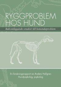 Ryggproblem hos hund (kartonnage)