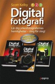 Digitalfotografi : lär dig yrkesfotografernas hemligheter - steg för steg! Paketutgåva 3 delar (häftad)