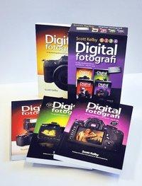 Digitalfotografi : l�r dig yrkesfotografernas hemligheter - steg f�r steg (Paketutg�va 4 delar) (h�ftad)