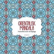 Orientalisk Mandala Fantasifulla motiv att färglägga